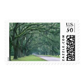 North America, U.S.A., Georgia, Savannah, Postage