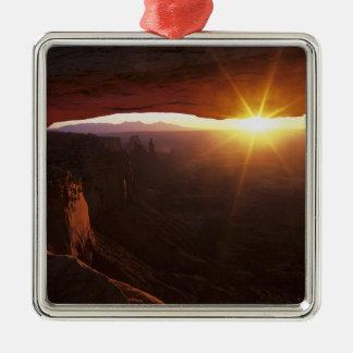 North America, U.S.A., Utah, Canyonlands Metal Ornament
