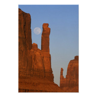 North America, U.S.A., Utah, Monument Valley, 2 Poster