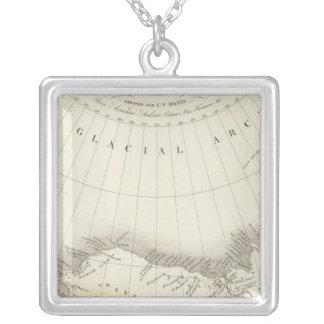 North America uncolored map Custom Jewelry