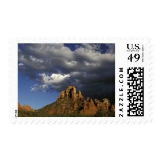 North America, United States, Arizona, Sedona. Postage Stamp