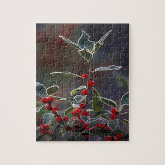 North America United States New England Holly 2 Jigsaw Puzzles