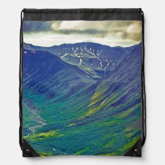 North America, United States, Us, Northwest Drawstring Bag