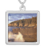North America, US, ME, The rocky Maine coast. Necklaces