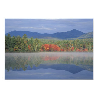 North America, US, NH, Fall reflections in Photo Print