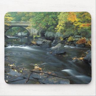 North America, US, NH, The bridge at Packers Mousepad