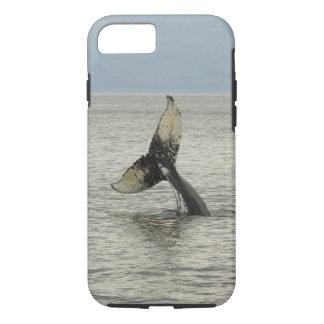 North America, USA, AK, Inside Passage. Humpback iPhone 7 Case