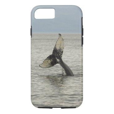 USA Themed North America, USA, AK, Inside Passage. Humpback iPhone 7 Case