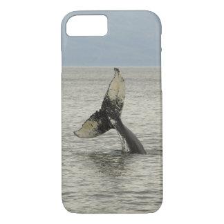 North America, USA, AK, Inside Passage. Humpback iPhone 8/7 Case