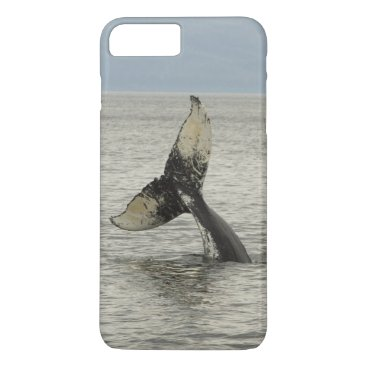 USA Themed North America, USA, AK, Inside Passage. Humpback iPhone 8 Plus/7 Plus Case