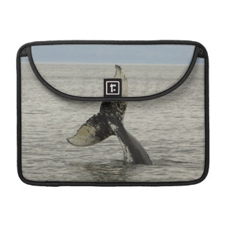 North America, USA, AK, Inside Passage. Humpback Sleeve For MacBook Pro