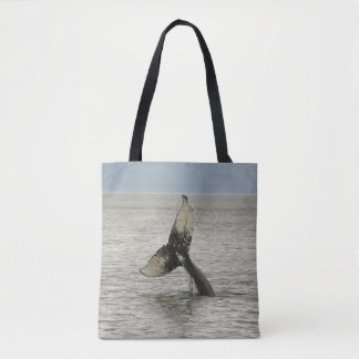 North America, USA, AK, Inside Passage. Humpback Tote Bag