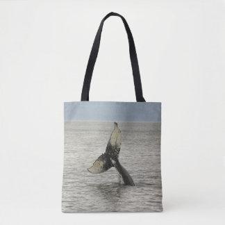 North America, USA, AK, Inside Passage. Humpback Tote Bag