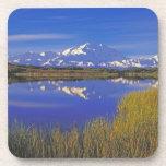 North America, USA, Alaska, Denali NP, Drink Coasters
