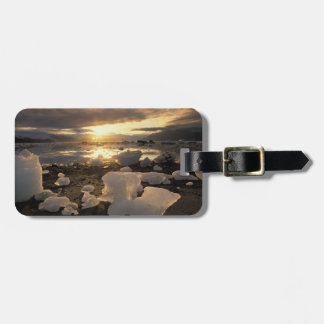 North America USA Alaska Ice Bay Icescape Tag For Luggage