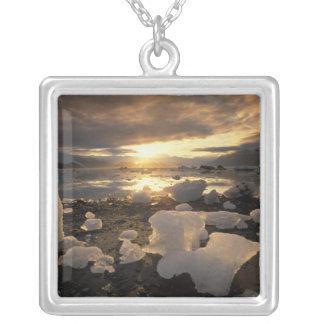 North America USA Alaska Ice Bay Icescape Necklace