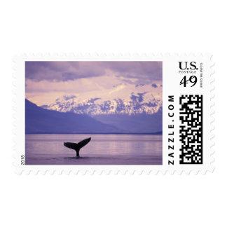 North America, USA, Alaska, Inside Passage. Postage Stamp