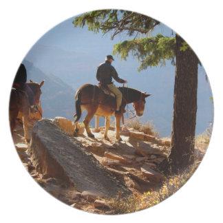North America, USA, Arizona, Grand Canyon 2 Melamine Plate