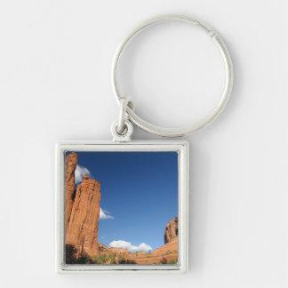 North America, USA, Arizona, Navajo Indian 4 Key Chain