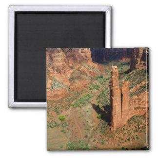 North America, USA, Arizona, Navajo Indian 7 2 Inch Square Magnet