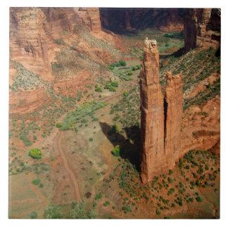 North America, USA, Arizona, Navajo Indian 7 Ceramic Tile
