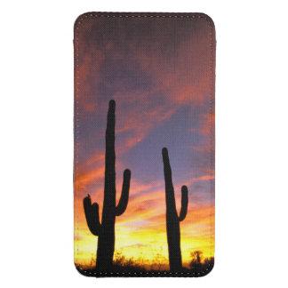North America, USA, Arizona, Sonoran Desert. Galaxy S4 Pouch