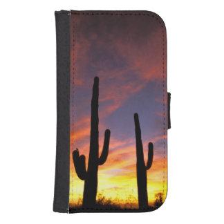 North America, USA, Arizona, Sonoran Desert. Galaxy S4 Wallet Case
