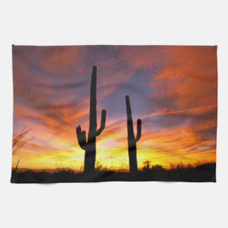 North America, USA, Arizona, Sonoran Desert. Kitchen Towel