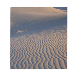 North America, USA, Califorinia, Death Valley Notepad