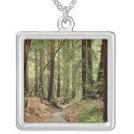 North America, USA, California, Big Sur, 3 Square Pendant Necklace