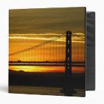 North America, USA, California, San Francisco. 3 Vinyl Binders