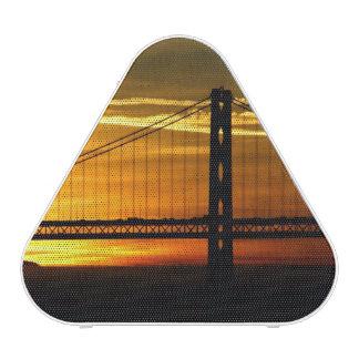 North America, USA, California, San Francisco. 3 Bluetooth Speaker