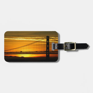 North America, USA, California, San Francisco. 3 Luggage Tag