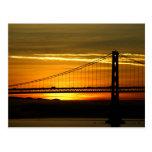 North America, USA, California, San Francisco. 3 Postcard
