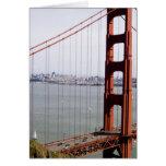 North America, USA, California, San Francisco. Greeting Card