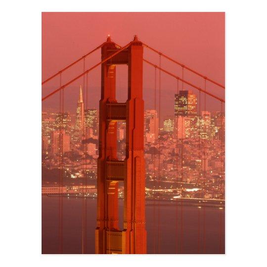 North America, USA, California, San Francisco. Postcard