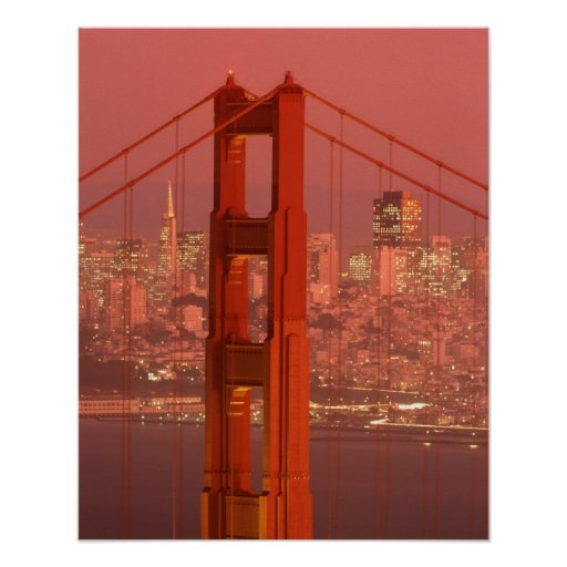 North America, USA, California, San Francisco. Print
