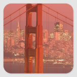 North America, USA, California, San Francisco. Square Sticker