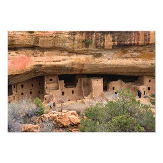 North America, USA, Colorado. Cliff dwellings Photo Print
