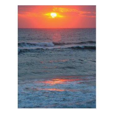 Beach Themed North America, USA, Florida, Canaveral Postcard