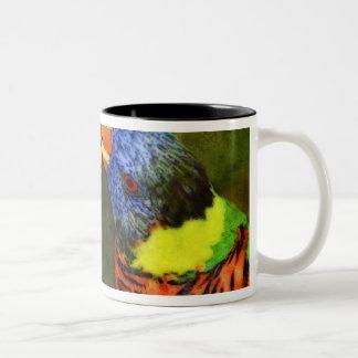 North America, USA, Florida, Tampa, digitally Two-Tone Coffee Mug