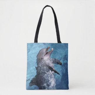North America, USA, Hawaii. Dolphin 2 Tote Bag