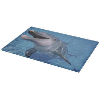 North America, USA, Hawaii. Dolphin 3 Cutting Board