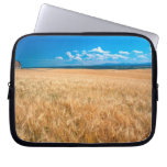 North America, USA, Idaho. Barley field in Laptop Sleeve