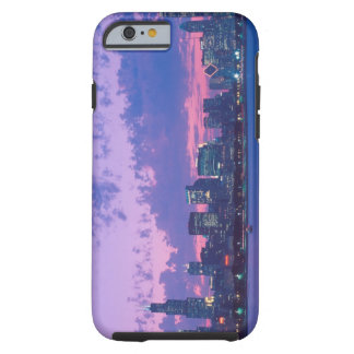 North America, USA, IL. Chicago skyline at dusk iPhone 6 Case