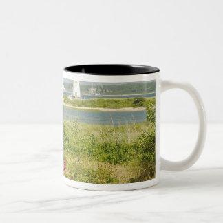 North America, USA, Massachusetts, Martha's Two-Tone Coffee Mug