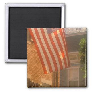 North America, USA, Massachusetts, Nantucket 2 2 Inch Square Magnet