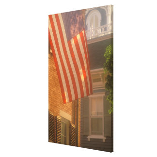 North America, USA, Massachusetts, Nantucket 2 Stretched Canvas Print
