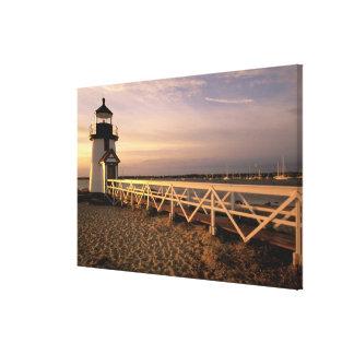 North America, USA, Massachusetts, Nantucket 3 Canvas Print