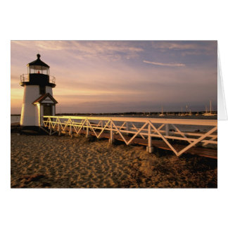 North America, USA, Massachusetts, Nantucket 3 Greeting Card